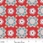 Sugar and Spice Fabric Red ..