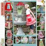 One Yard Apron Pattern from..