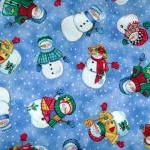 Let it Snow Fabric Tossed S..