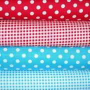 4 Yard Fabric Bundle Dots and Gingham