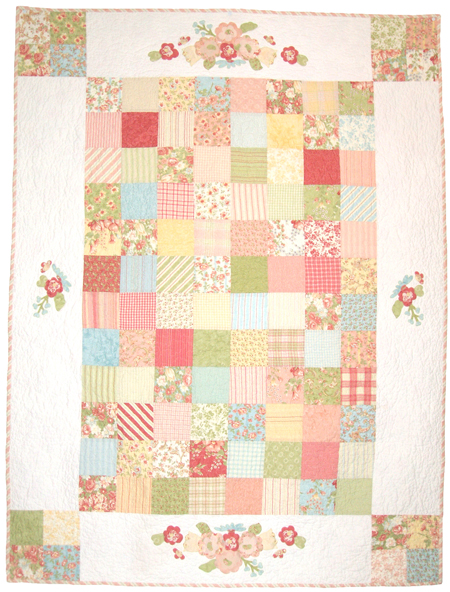 Meadow Charm Square Quilt Pattern b Acorn Quilt Co.
