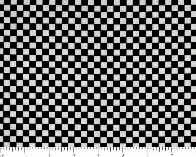 Mary Engelbreit Black and White Check Fabric Very Retro